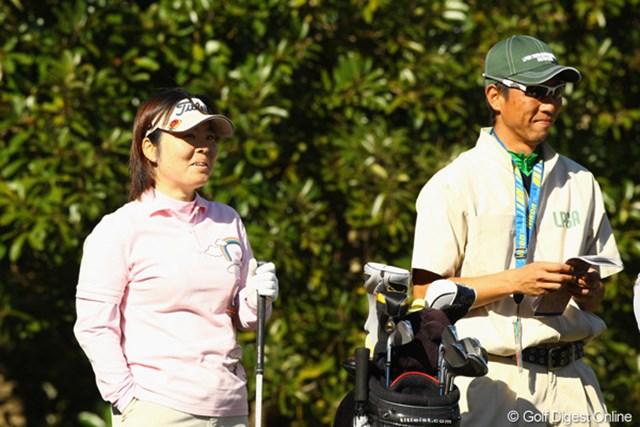 2010年 LPGAツアーチャンピオンシップリコーカップ3日目 不動裕理 首位との差は僅かに3打。最終組での逆転劇はあるだろうか!?