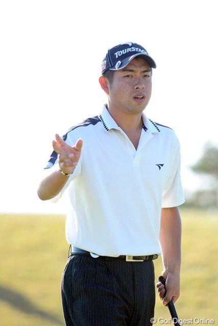 2010年 カシオワールドオープンゴルフトーナメント3日目 池田勇太 土壇場で猛烈なラストスパートを見せている池田勇太。この勢いは本物だ!