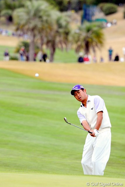 2010年 カシオワールドオープンゴルフトーナメント 最終日 池田勇太 最終日伸びずも、遼君、キョンテより上位フィニッシュなんで、まだまだ賞金王の可能性が!