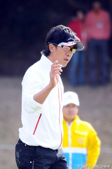 2010年 カシオワールドオープンゴルフトーナメント 最終日 上井邦浩 スタートと最終ホールでバーディ。芹沢軍団の若大将がすっかりチカラをつけたでェ!5位T