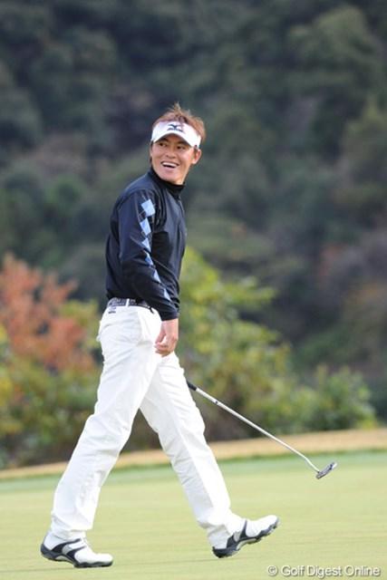 2010年 カシオワールドオープンゴルフトーナメント 最終日 上田諭尉 シード権確定オメ!途中からシードを確信したプレーしてたもん。土壇場に強いというこっちゃ!8位T
