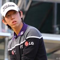 少年のような華奢な体格ながら、この日ドライビングディスタンスはナンバー1となった 2010年 ゴルフ日本シリーズJTカップ 初日 ノ・スンヨル