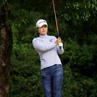今季のUSLPGAツアー賞金ランク31位のミーナ・リーも来季は日本でプレー。日本勢にとって脅威の存在となるだろう 2010年 女子ファイナルQT 最終日 ミーナ・リー