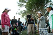2010年 LPGAツアー選手権 3日目 宮里美香、上田桃子、宮里藍