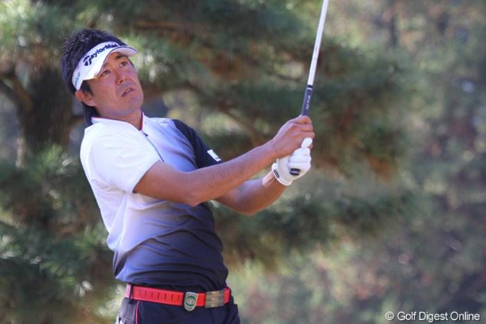2番、3番で連続バーディを奪ったが、その後は伸び悩み11位タイ 2010年 ゴルフ日本シリーズJTカップ 最終日 富田雅哉