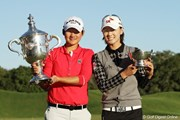 2010年 LPGAツアー選手権 最終日 チェ・ナヨン&ヤニ・ツェン