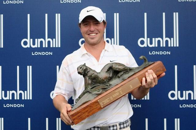 2011年 アルフレッドダンヒル選手権 事前 パブロ・マーチン 昨年大会で激戦を制し、通算17アンダーでプロ転向後初勝利を手にしたパブロ・マーチン(Warren Little/Getty Images)