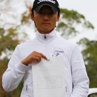 ランキング16位に入り来季の前半戦フル参戦の権利を掴んだ阿部裕樹 2010年  男子ファイナルクォリファイングトーナメント 最終日 阿部裕樹