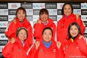 2010年 Hitachi 3Tours Championship 2010 事前 有村智恵