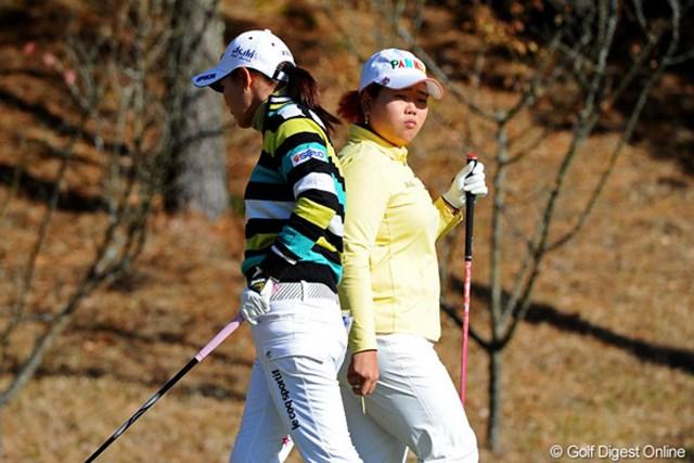 2010年 国内女子ツアーレビュー アン・ソンジュ&横峯さくら 参戦1年目のアン・ソンジュが、横峯さくらをはじめとする日本勢の追随を許さず賞金女王に輝いた