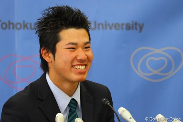 アマチュア、そしてまだ18歳(出場時は19歳)という若さで挑む松山英樹