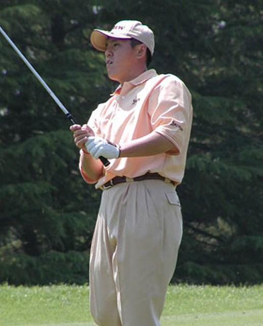 終盤粘りのゴルフを見せ、プレーオフも制した