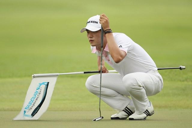 2011年、PGAツアールーキーとして挑むキム・ビーオ。現在20歳、韓国期待の若手選手だ(写真は2010年  Ian Walton/Getty Images)