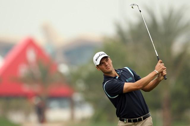 2011年 アブダビHSBCゴルフ選手権 3日目 マーティン・カイマー 2位に5打差、独走状態で最終日を迎えるM.カイマー。大会3勝目に王手をかけた (Ross Kinnaird/Getty Images)