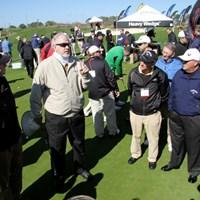 ショートゲーム専門のインストラクター、デーブ・ペルツ氏がレッスン会を開催 最新ギアの祭典!「2011年 PGAマーチャンダイスショー デモデー」レポート NO.6