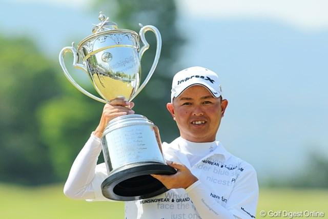 昨年の「日本プロゴルフ選手権大会 日清カップヌードル杯」を制した谷口徹
