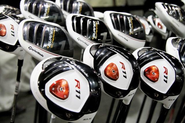 海外の新製品が目白押し!2011年PGAマーチャンダイズショー開幕レポート NO.3 テーラーメイドが誇る人気の2ブランドは白いカラーリングで登場