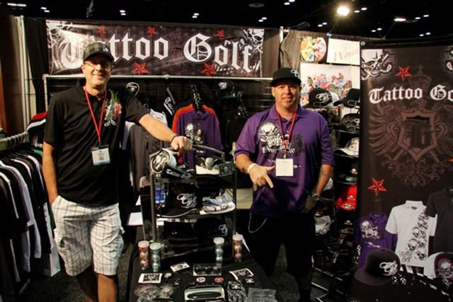 海外の新製品が目白押し!2011年PGAマーチャンダイズショー開幕レポート NO.5 スカル柄を基調にしたアパレルブランド「タトゥーゴルフ」