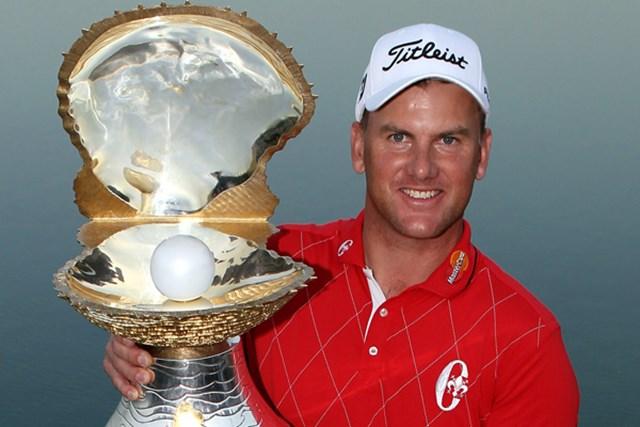 2010年は逆転で優勝を飾ったロバート・カールソン。今年も好調キープで大会に乗り込む!(Andrew Redington/Getty Images)