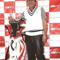 ワークスゴルフのギアで2011年シーズンを戦う奥田靖己 2011年 奥田靖己がワークスゴルフと契約