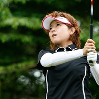 2位に2打差、逆転でタイトルを手にした武田由紀 2011年 第9回グアム知事杯女子ゴルフトーナメント 最終日 武田由紀