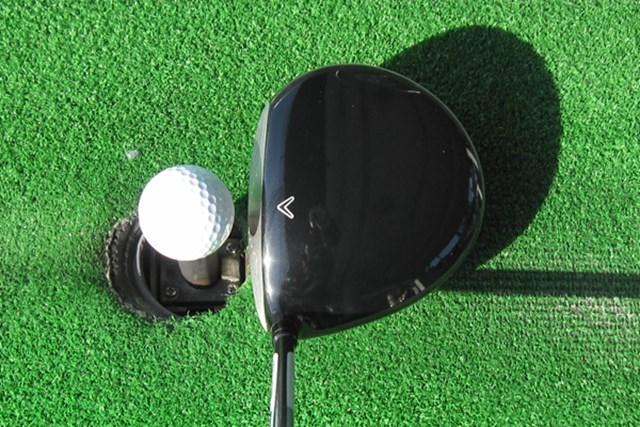 新製品レポート キャロウェイ LEGACY APEXドライバー NO.2 少し大きめな丸型ヘッドの「LEGACY APEX」