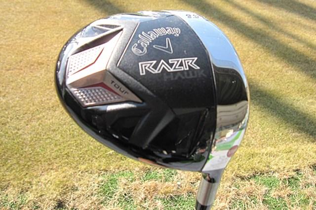新製品レポート キャロウェイ RAZR HAWKツアー ドライバー NO.1 ハードヒッター必見「キャロウェイ RAZR HAWKツアー ドライバー」をレポート