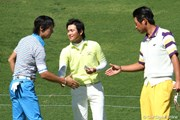 2011年 ノーザントラストオープン 初日 石川遼、池田勇太、今田竜二