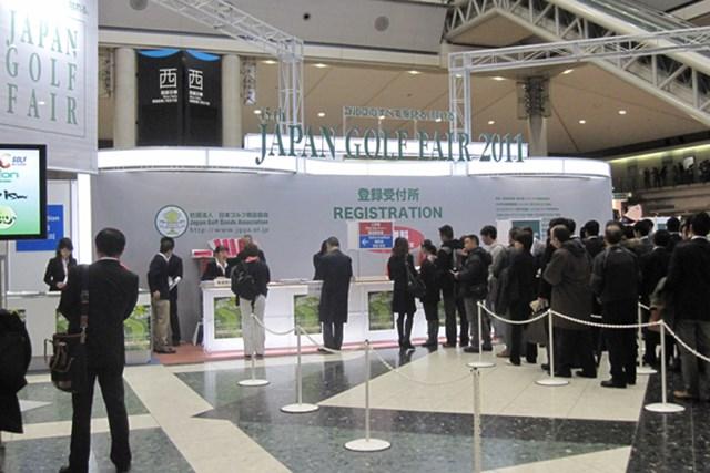 女性急増でファッションショーを開催!第45回ジャパンゴルフフェアが開幕 NO.1 第45回ジャパンゴルフフェアが東京ビッグサイトで開幕