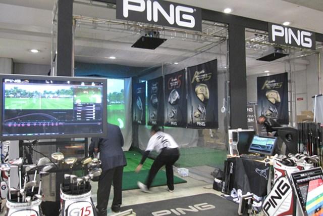 女性急増でファッションショーを開催!第45回ジャパンゴルフフェアが開幕 NO.5 PINGゴルフといえば、それぞれの体格に合わせたフィッティングが売り