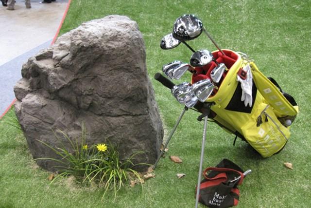 女性急増でファッションショーを開催!第45回ジャパンゴルフフェアが開幕 NO.23 毎年独特の世界観を演出しているオノフのブース