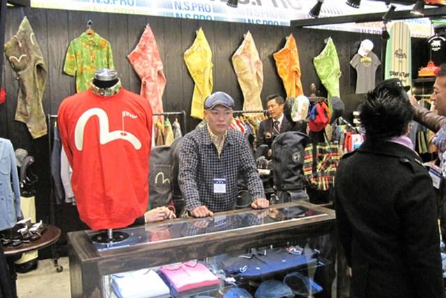 女性急増でファッションショーを開催!第45回ジャパンゴルフフェアが開幕 NO.27 人気上昇中のアパレルブランド、エビスゴルフ