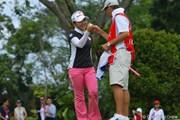 2011年 HSBC女子チャンピオンズ 2日目 有村智恵