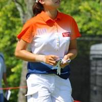 ユ・スンヨンは首位に4打差の3位につけた 2011年 HSBC女子チャンピオンズ 2日目 ユ・スンヨン