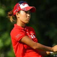 上田桃子はスイングに悩みながら我慢のゴルフを展開 2011年 HSBC女子チャンピオンズ 2日目 上田桃子