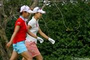 宮里藍&上田桃子 2011年 HSBC女子チャンピオンズ