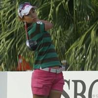 コースマネジメントに苦しんだ上田桃子は大きく後退 2011年 HSBC女子チャンピオンズ 最終日 上田桃子