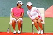 2011年 HSBC女子チャンピオンズ 最終日 ヤニ・ツェン&有村智恵