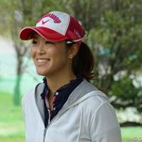 「開幕戦がとても楽しみ!」と話す甲田良美 2011年 ダイキンオーキッドレディスゴルフトーナメント 事前 甲田良美