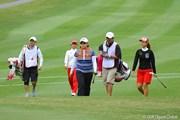 2011年 ダイキンオーキッドレディスゴルフトーナメント 2日目 申智愛、上田桃子、イ・ボミ