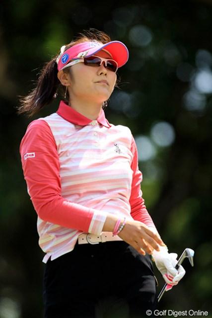 2011年 ダイキンオーキッドレディスゴルフトーナメント 最終日 藤田幸希 2日間守った首位の座だが、最終日にスコアを伸ばせず10位タイの藤田幸希