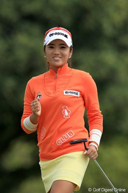 2011年 ダイキンオーキッドレディスゴルフトーナメント 最終日 イ・ボミ 去年の韓国の賞金女王、イ・ボミです