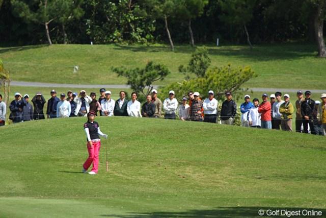 2011年 ダイキンオーキッドレディスゴルフトーナメント 最終日 穴井詩 穴井詩はこの日「75」で10位タイフィニッシュ。この経験を次に生かしたい!