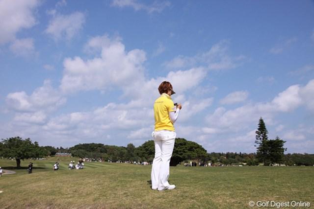 2011年 ダイキンオーキッドレディスゴルフトーナメント 最終日 森田理香子 森田理香子は5位タイ。もう少しで一流選手に届きそうな存在だが…