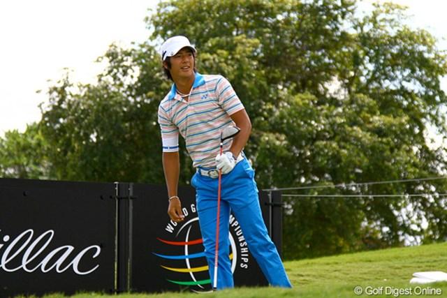 2011年 WGC キャデラック選手権 練習日 石川遼 次世代を担うホープとのラウンドが決まった石川遼