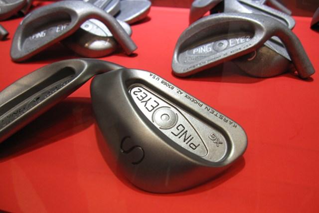「EYE2 ウェッジ」を愛するゴルファーのために復活させた「EYE2 XG ウェッジ」