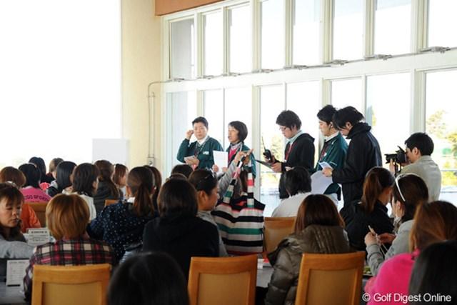 午前8時、山口喜美恵ツアーディレクターより選手に大会中止が伝えられた