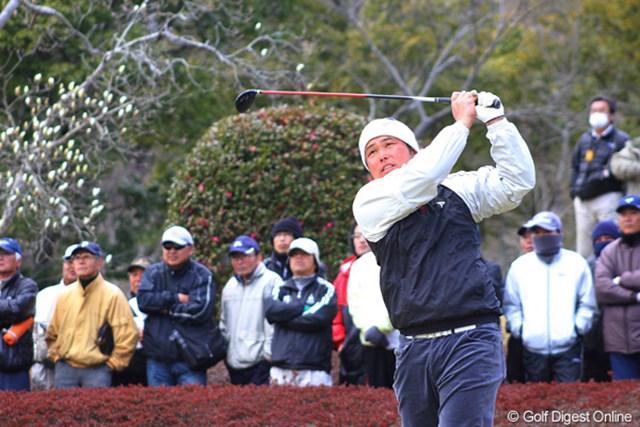 ディフェンディングチャンピオンとして出場した小田龍一。連覇は逃したが今年も大会の盛り上げ役を担った