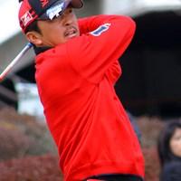 選手たちはキャップなどに喪章をつけてプレー 2011年 東急大分オープンゴルフトーナメント 広田悟