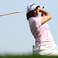 連日の「66」をマークし、首位をキープしたA.スタンフォード (Stephen Dunn/Getty Images) 2011年 RRドネリー LPGA ファウンダーズカップ 2日目 アンジェラ・スタンフォード